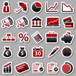 economic Red Stickers