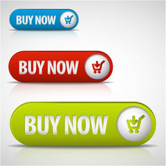set of buy now buttons