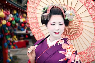 Maiko's umbrella