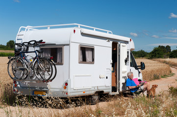 Journey by mobile home