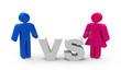 Mann vs. Frau