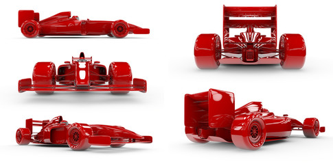 Formula 1 concept SET 1, easy to colorize