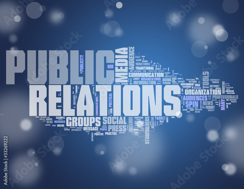 "Word Cloud ""Public Relations"""