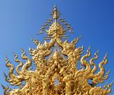 Thai temple decorate, Asia poster