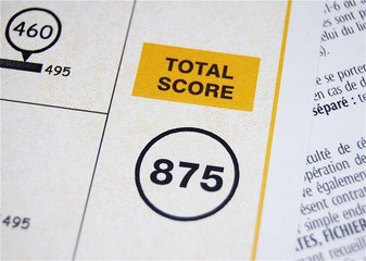 Score du TOEIC, le test d'anglais international