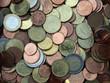 little chest full of euro coins
