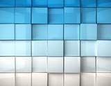 Fototapety imagen 3d fondo con cubos