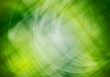 Vibrant green abstraction