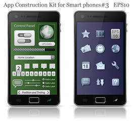 UI elements for Smart phone