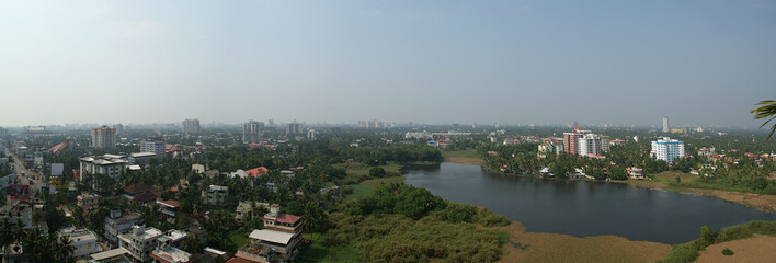 General view of the city, Cochin (kochi), India