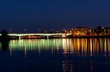 Warsaw panorama during the night - 33278678