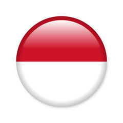 Indonesien - Button