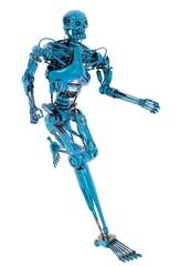 Robot running