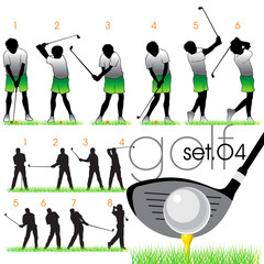 Golf lessons in phases