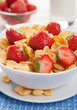 cereal with strawberry