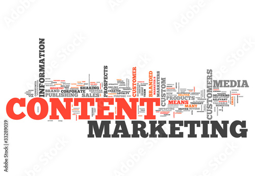 "Word Cloud ""Content Marketing"""