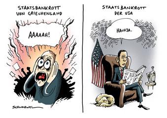 Staatsbankrott Griechenland und USA