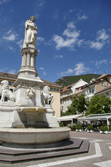 Statue in Bolzano Italy