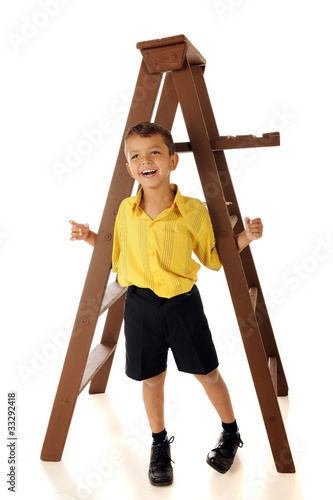 Hanging 'Round a Ladder
