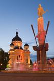 Cluj Napoca in Transylvania Romania poster
