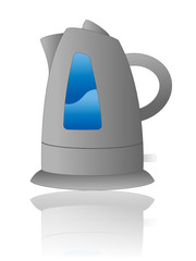 Electric Kettle Icon (electrical household appliances kitchen)