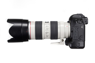 Canon 1D mit Tele Objektiv