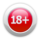 eighteen plus button