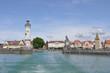 Hafenausfahrt von Lindau