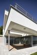 terrace of a beautiful modern house