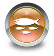 "Orange Glossy Pictogram ""Fish Hatchery"""