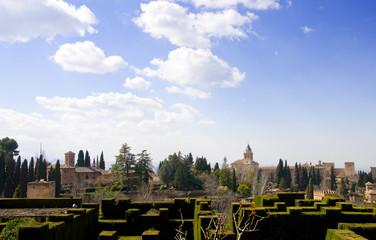 Alhambra - Granada - Analusien - Spanien