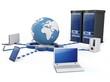 3dglobal  Cloud computing concept