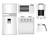 kitchen appliances set