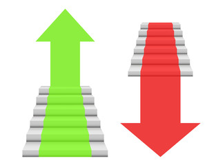 steps business graphics