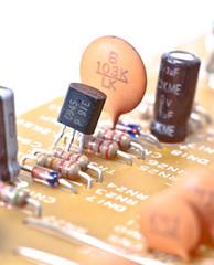Transistor en placa base