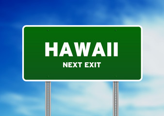 Hawaii Street Sign