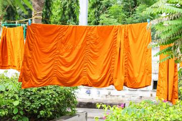 Monk clothes.