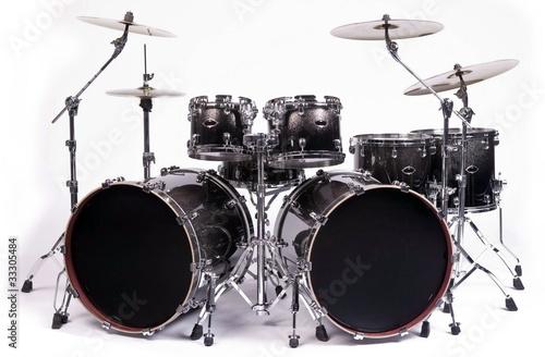 Leinwanddruck Bild drums kit