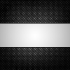 illustrate of black grill texture background.
