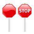 Stop Schild Verkehrszeichen
