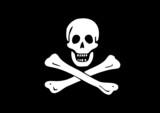 Pavillon noir pirate Edward England