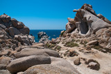 Sardinia, Italy: stunning granite rock formations in Capo Testa