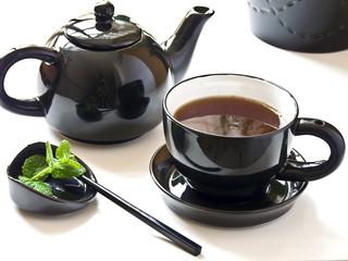 Saludable té listo para tomar