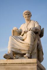 Vienna - rome historian Salustius statue