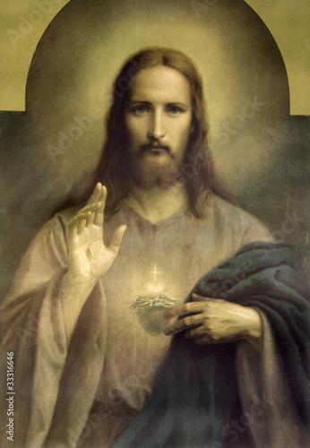 heart of Jesus Christ © Renáta Sedmáková