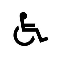 Behindert Rollstuhl