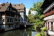 France, quartier de La Petite France à Strasbourg