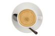 Taza de café aislada superior