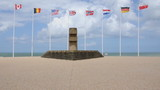 Monument de la libération - Bernieres-Sur-Mer poster