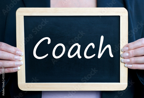 Coach - Business and Support Concept